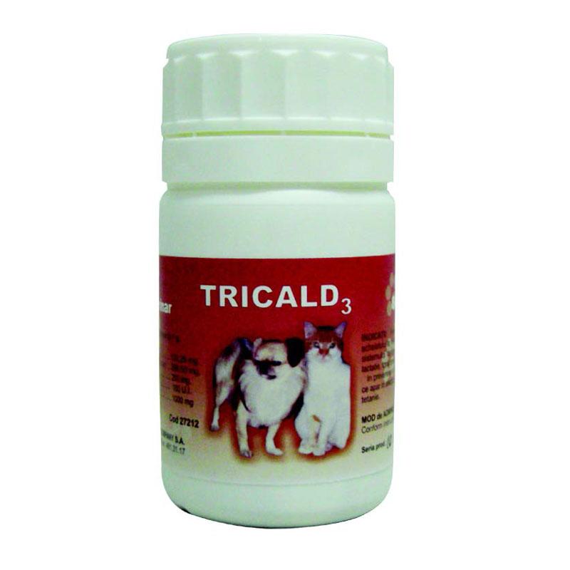 TRICALD 3 x80 Comprimate imagine