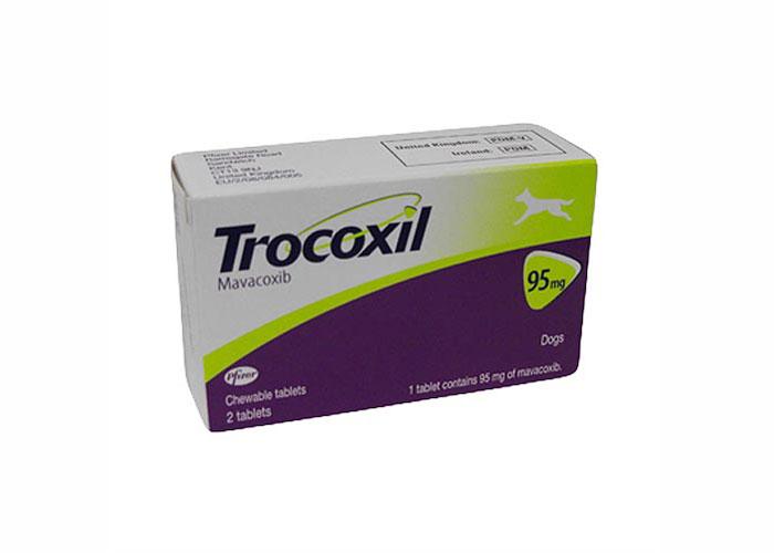 Trocoxil 95 Mg, 2 Tablete Masticabile