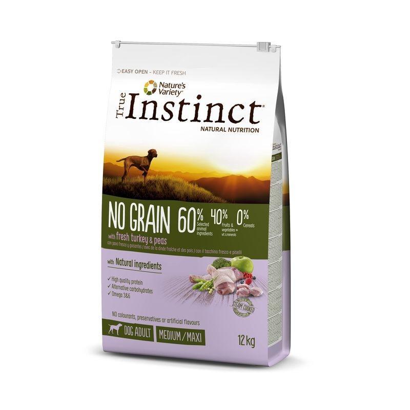 True Instinct Dog No Grain Medium - Maxi Adult Curcan, 12 kg imagine