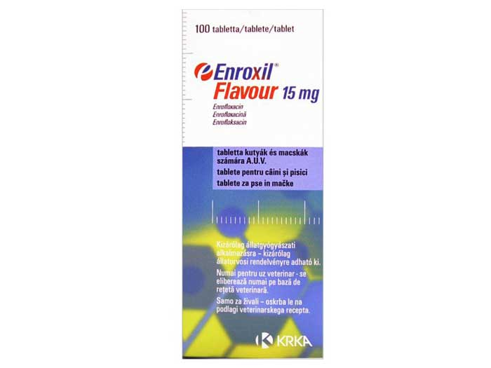 Enroxil Flavour 15 Mg - 10 Comprimate