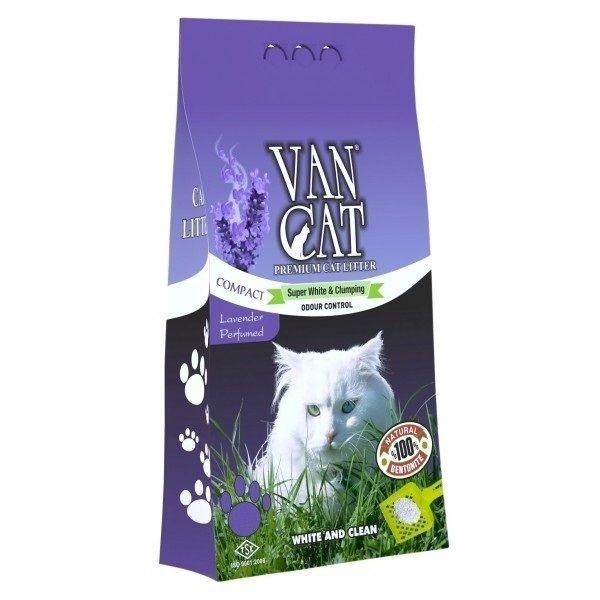 Nisip igienic, Vancat Lavender Compact, 5 kg imagine