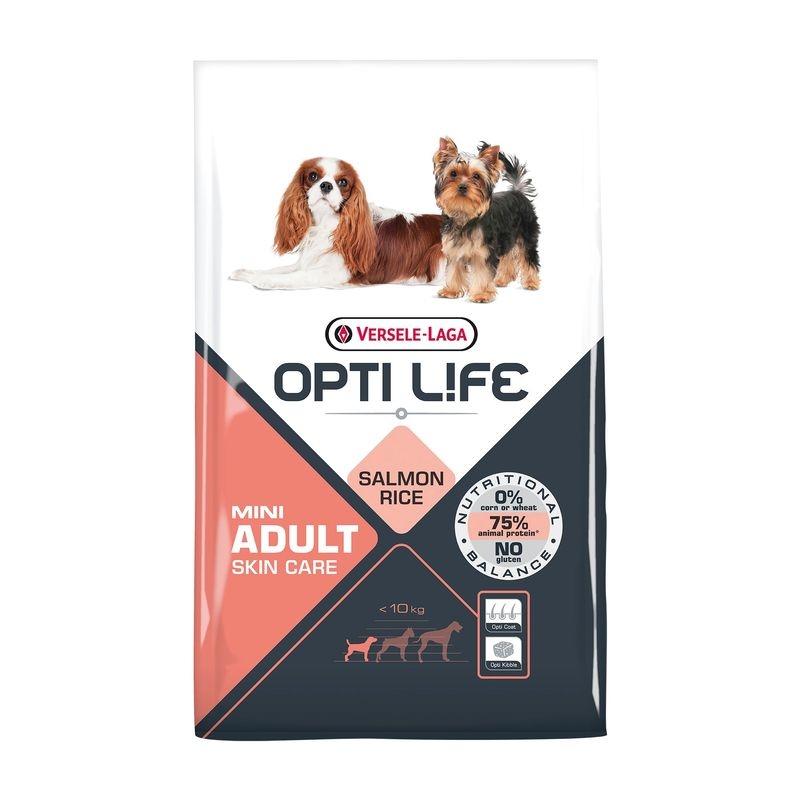 Versele Laga Opti Life Adult Skin Care Mini, 2.5 kg imagine