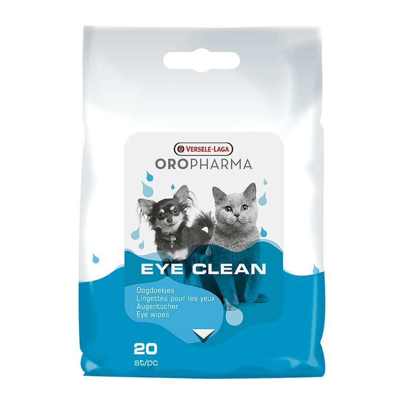 Versele Laga Oropharma Eye Clean, 20 bucati imagine