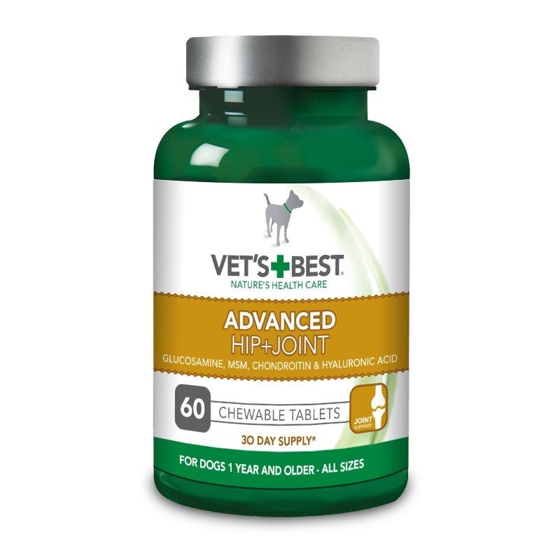 Vet's Best Advanced Hip & Joint, 60 tablete imagine