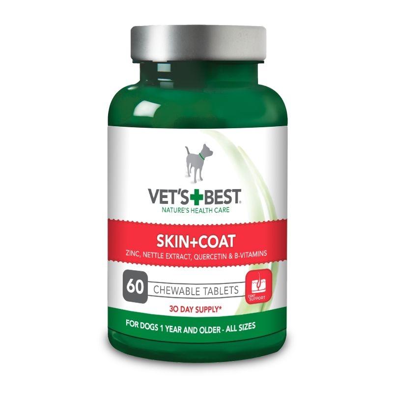 Vet's Best Skin & Coat, 60 tablete imagine