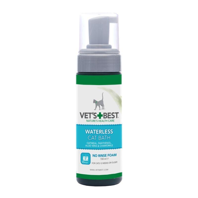 Vet's Best Waterless Cat Bath, 150 ml imagine