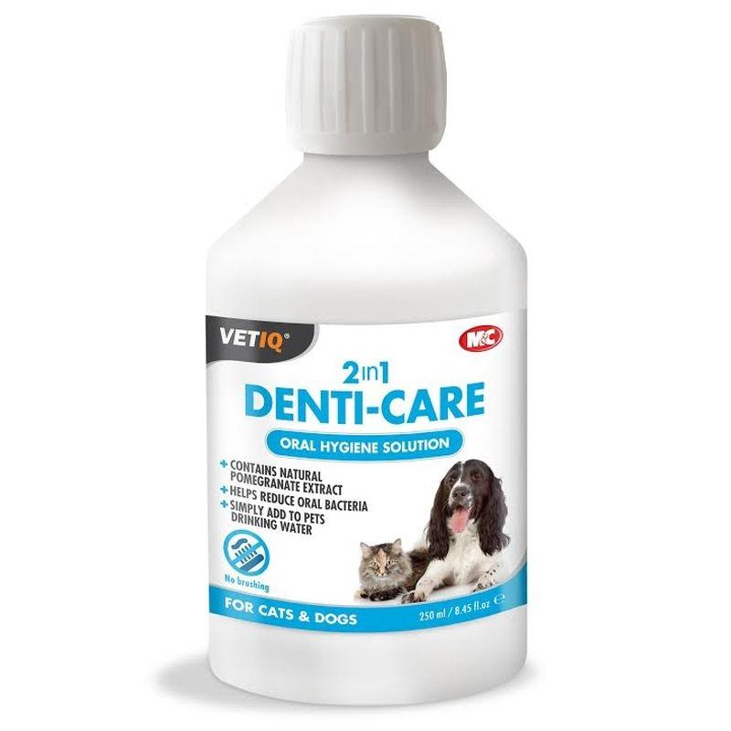 Vetiq 2 in 1 Denti-Care, 250 ml imagine