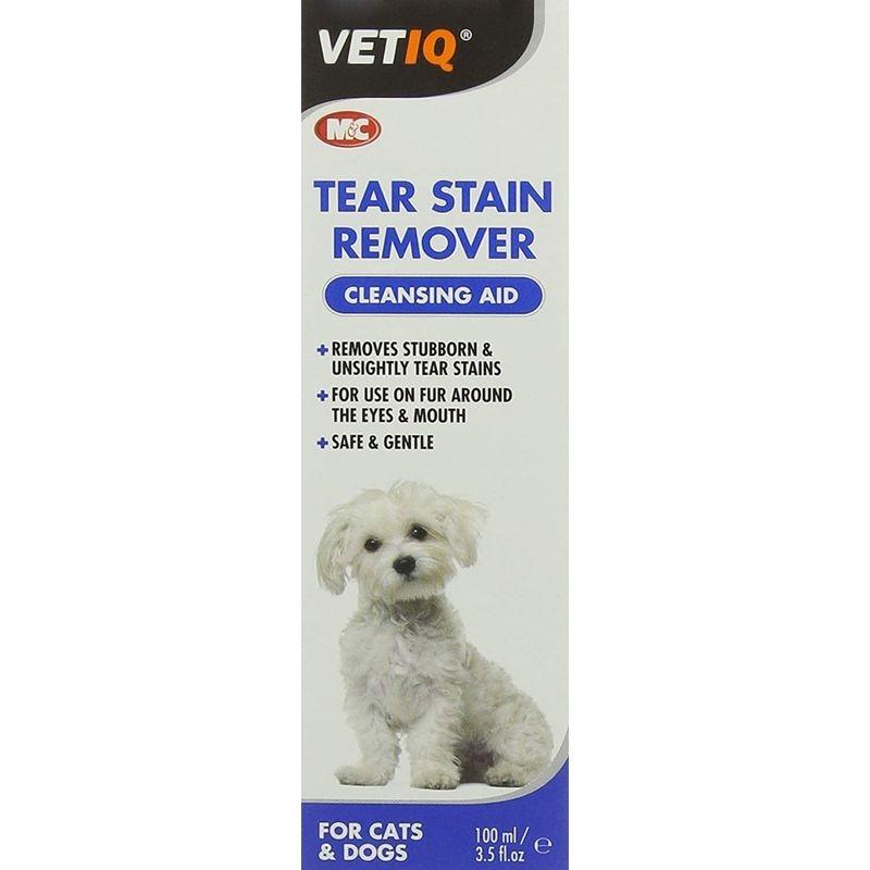 Vetiq Tear Stain Remover, 100 ml imagine