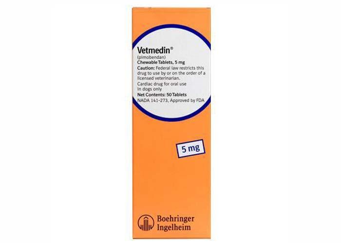 Vetmedin 5 Mg, 50 Tablete Masticabile