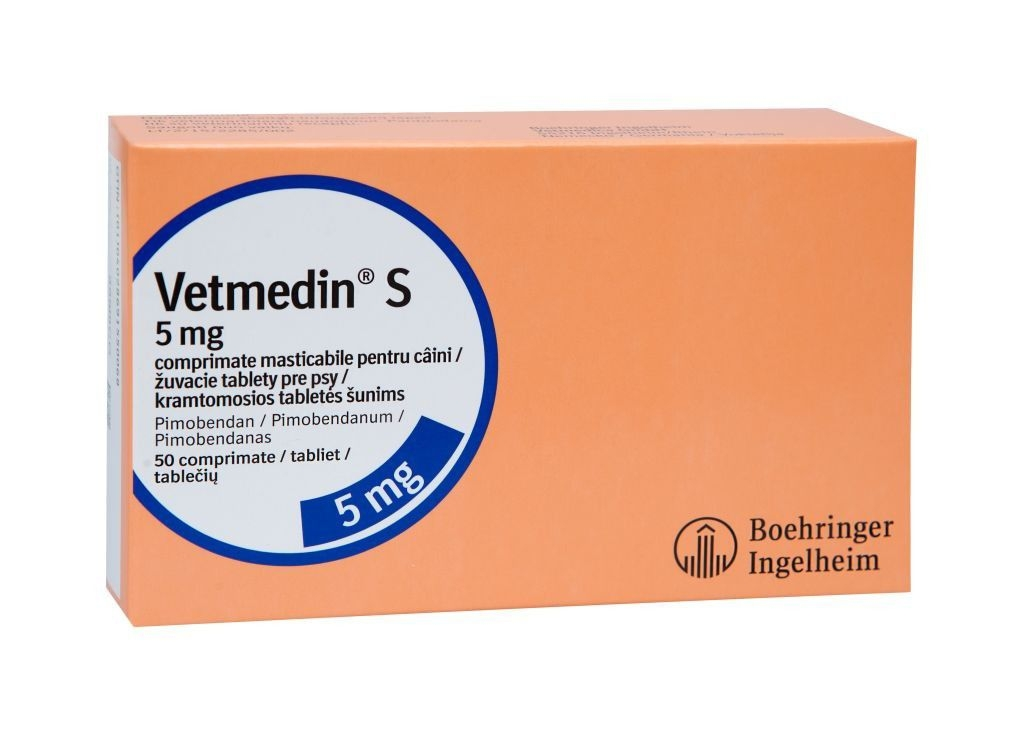 Vetmedin 5 mg, 50 comprimate imagine