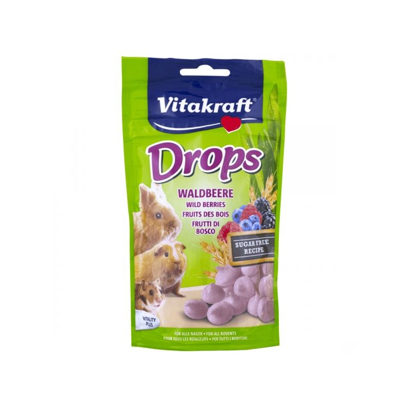 Drops Rozatoare cu Fructe de Padure 75 g imagine