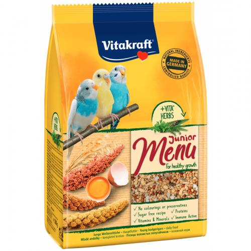 Hrana pentru perusi, Vitakraft Premium Menu Junior, 500 g imagine