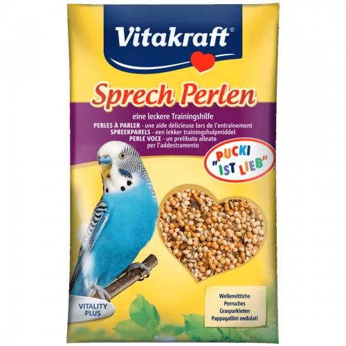 Vitamine pentru perusi vorbitori, Vitakraft, 20 g imagine