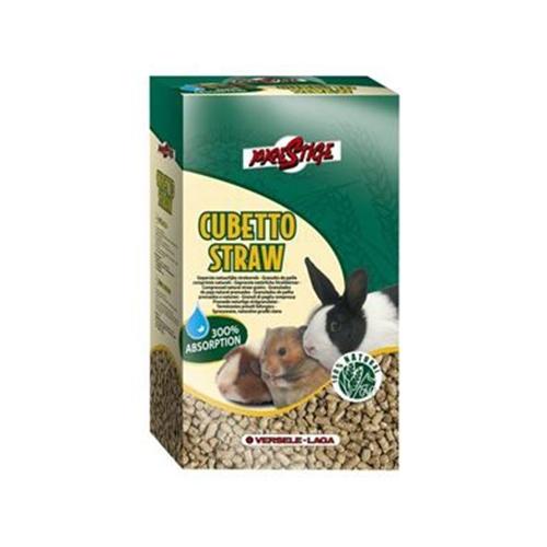Asternut pentru rozatoare, Cubetto straw, 12 L imagine