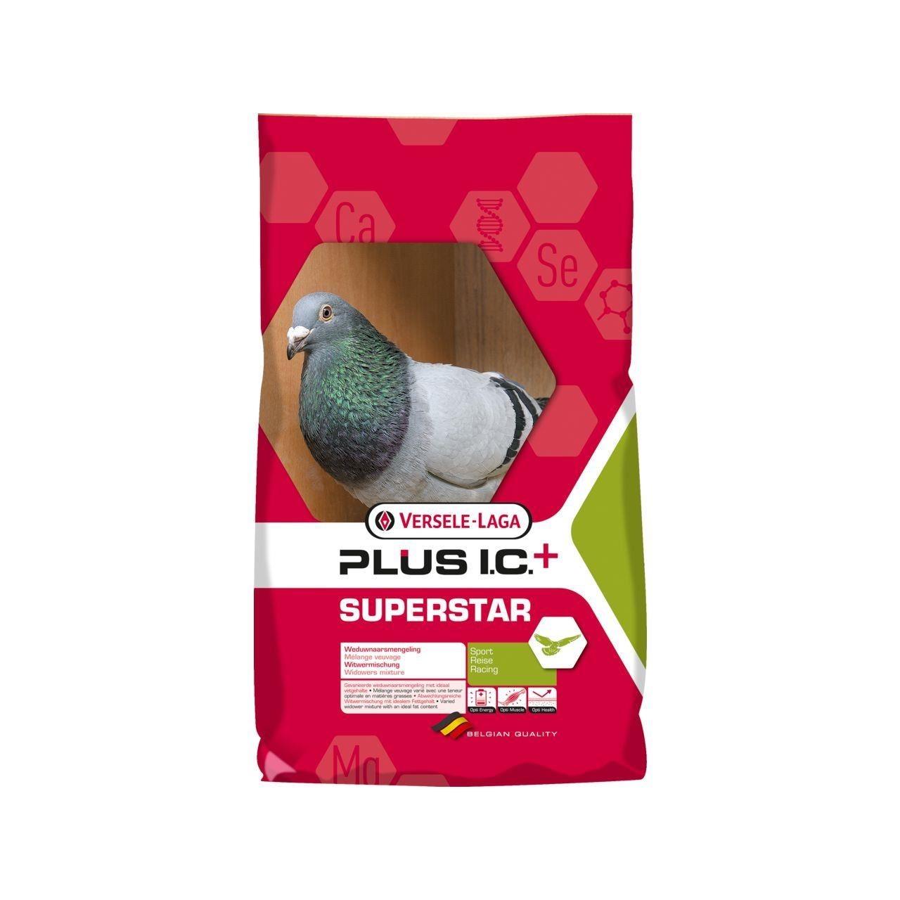 Hrana porumbei, Versele-Laga Superstar Plus IC+ Black, 20 kg imagine