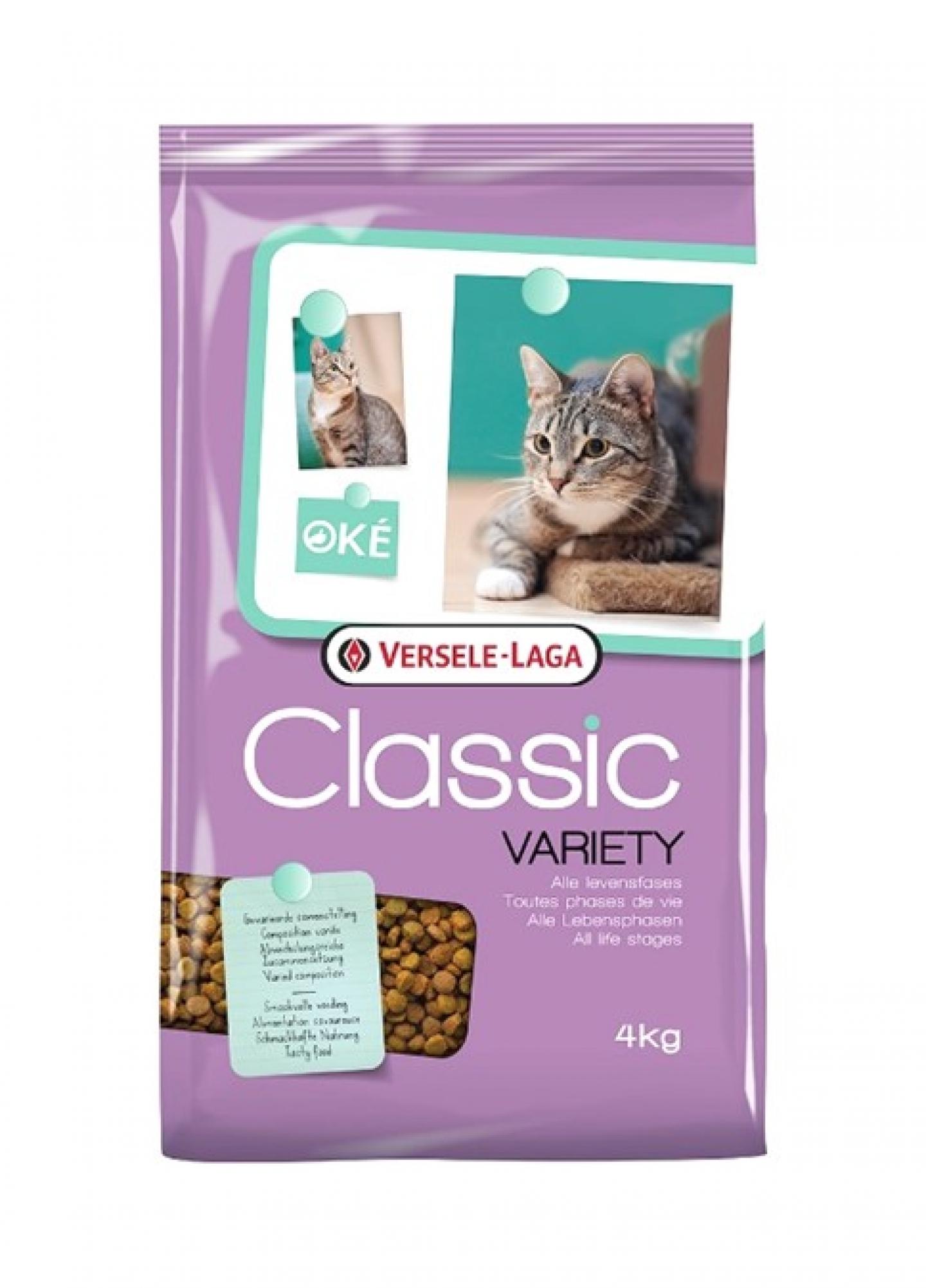 Versele-Laga Oke Classic Cat Variety, 4 kg imagine