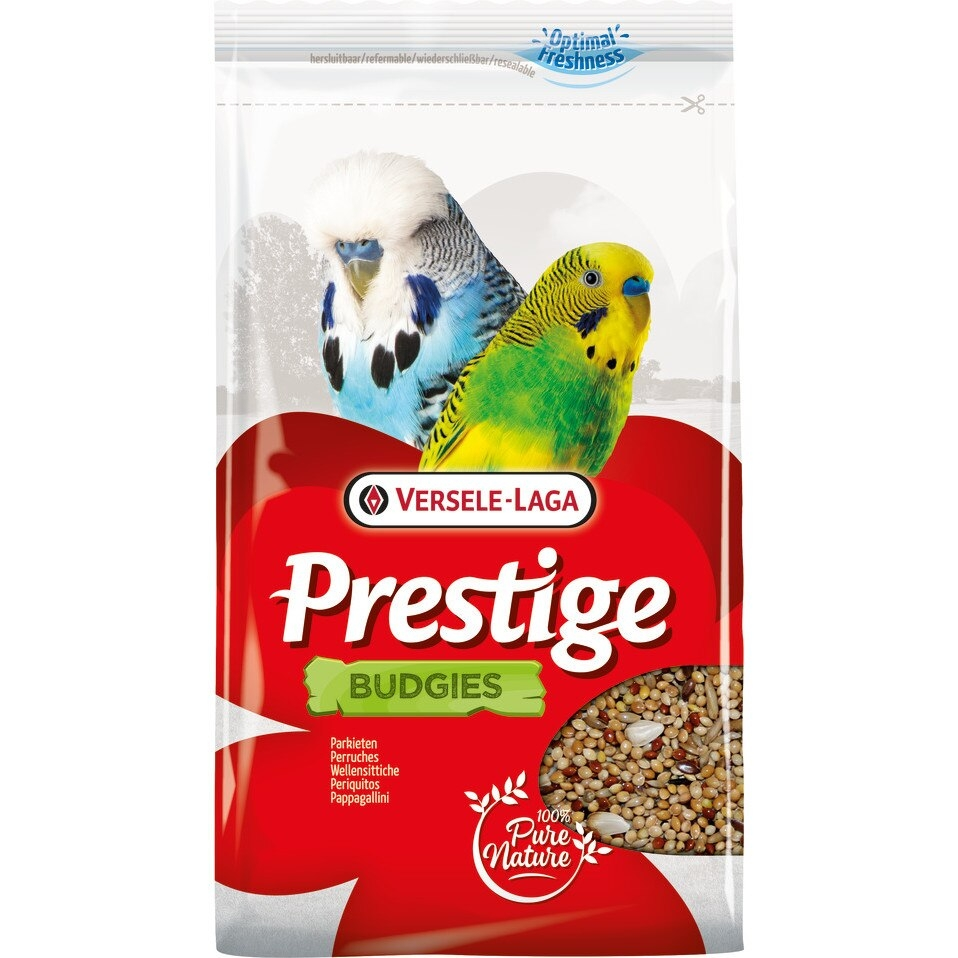 Meniu perusi, Versele-Laga Prestige Budgies Freshpack, 500 g imagine