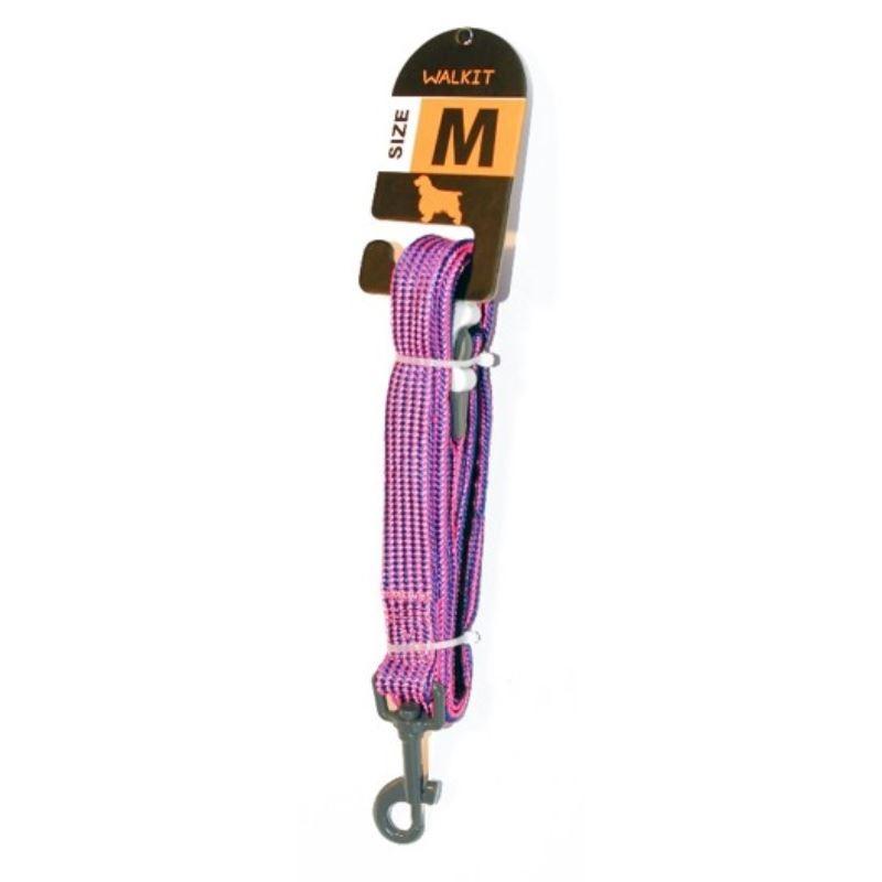 Walkit Special Tubular Multicolor Lesa caine violet/albastru (M) 2 x 150 cm imagine