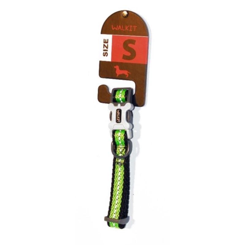 Walkit Twill Weaved Zgarda caine verde (S) 1.6 x 25 - 35 cm imagine