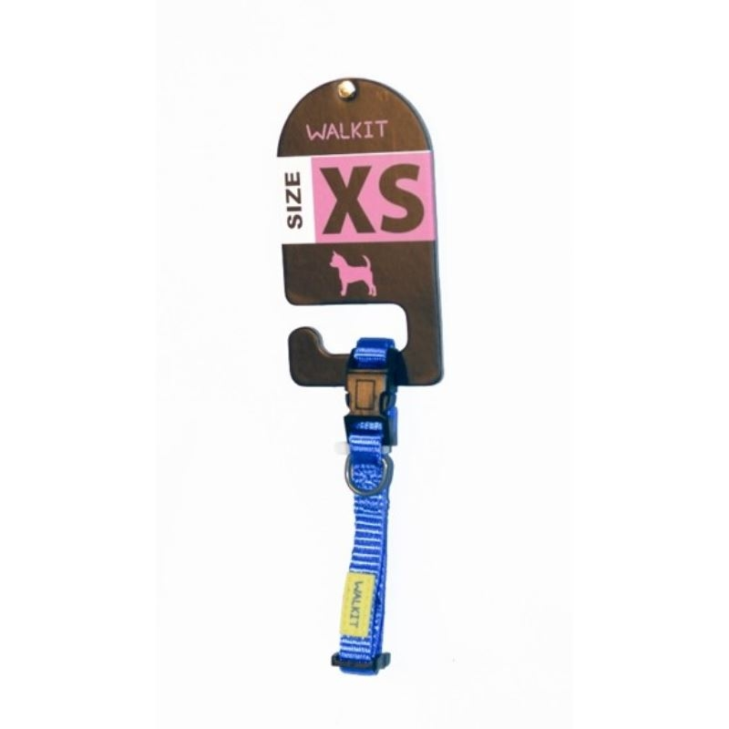 Walkit Zgarda caine albastra (XS) 1 x 20 - 30 cm imagine