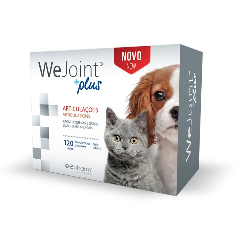 WeJoint Plus Small Breeds and Cats, 120 tablete imagine