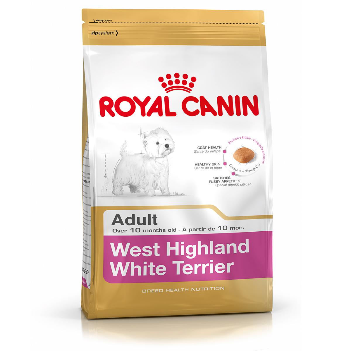 Royal Canin West Highland White Terrier Adult 500 G + 500 G Cadou imagine