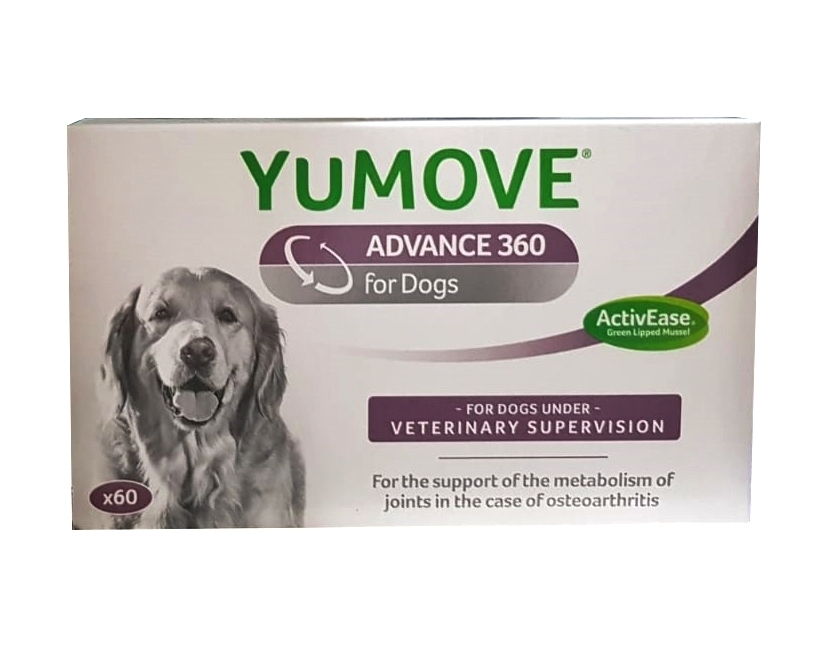 YuMOVE Advance 360 for Dogs, 60 tablete imagine