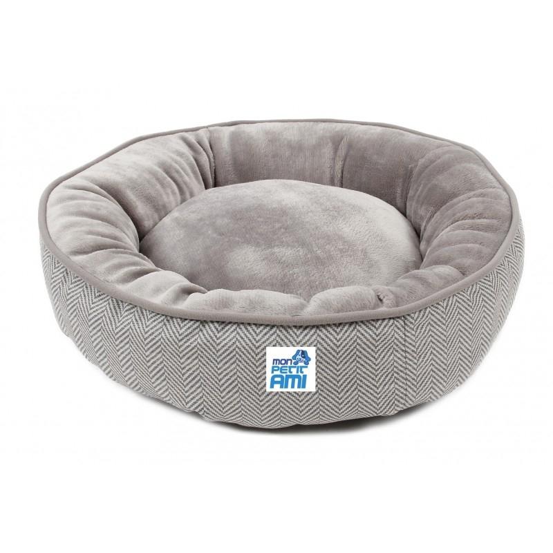 Culcus pentru caini si pisici, Mon Petit Ami Gizmo, S (53xH10 cm), Bej imagine