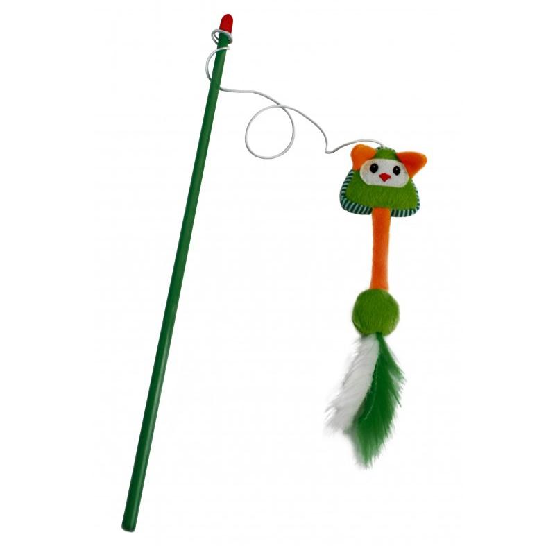 Jucarie undita pentru pisica, Mon Petit Ami, Verde imagine