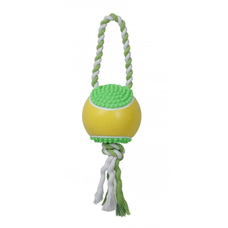 Jucarie minge din vinil cu sfoara, Mon Petit Ami, 35x7 cm imagine