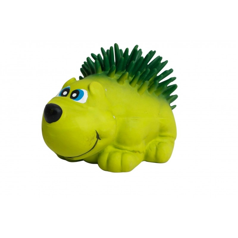 Jucarie arici din latex, Mon Petit Ami, 8 cm, verde imagine