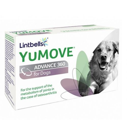 YuMOVE Advance 360 for Dogs, 120 tablete imagine