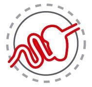 Royal Canin German Shepherd Adult - Performanta digestiva tintita  Asigura o digestie buna, luand in considerare sensibilitatea cainilor din rasa Ciobanesc German, datorita proteinelor L.I.P. care sunt foarte digestibile si a continutului de ulei de cocos si orez, singurele surse de carbohidrati. De asemenea, include o selectie de fibre care limiteaza fermentatia intestinala, mentinand flora intestinala.